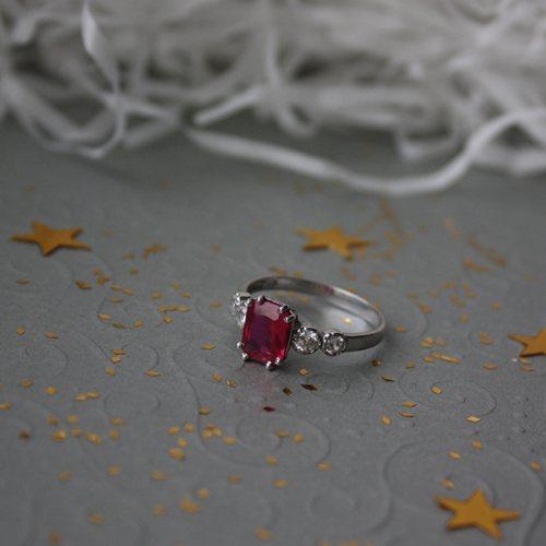 """Серебряное кольцо """"Адалин"""""""