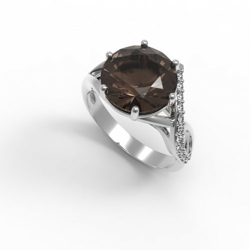 """Серебряное кольцо """"Индия"""""""