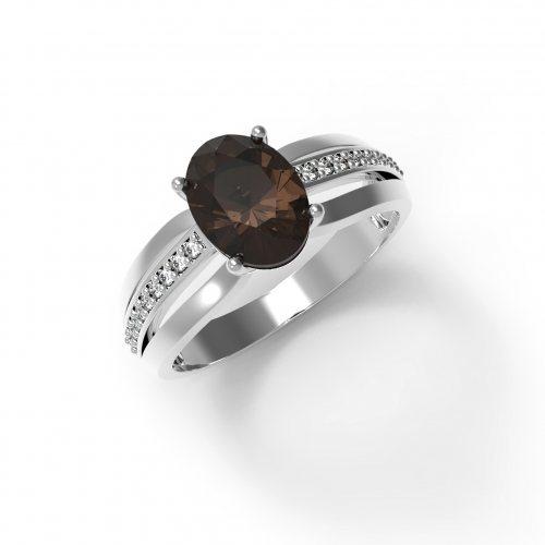 """Серебряное кольцо """"Мечтательность"""""""