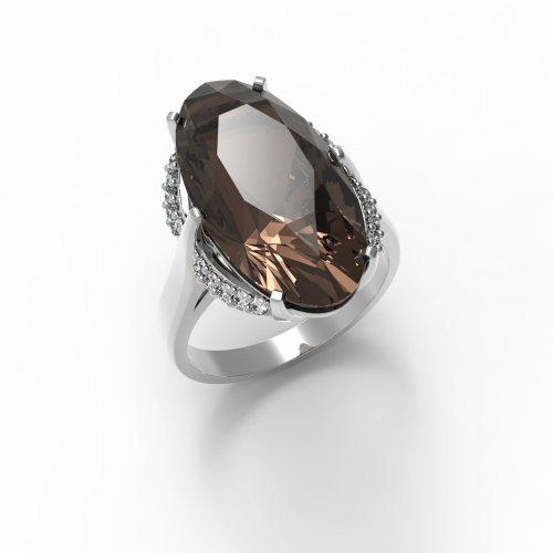 """Серебряное кольцо """"Олимпия"""""""
