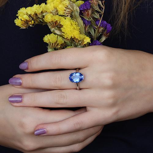 """Серебряное кольцо """"Венди"""""""