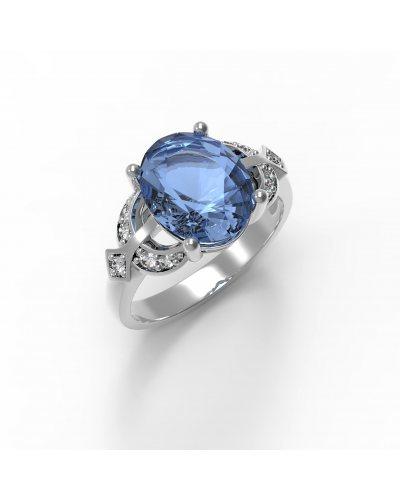"Серебряное кольцо ""Желание"""