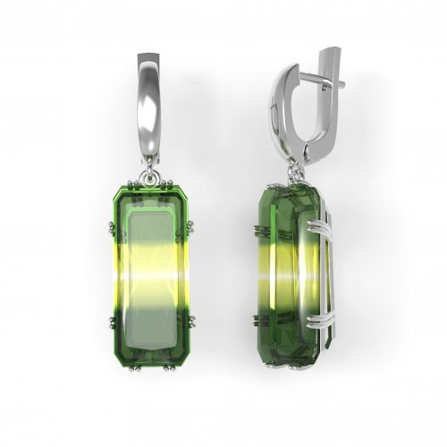Камень: Кварц Green-yellow